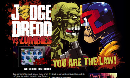 Photo of Android-игры: Judge Dredd vs Zombies