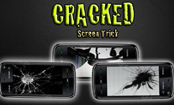 Живые обои Cracked Screen для андроид