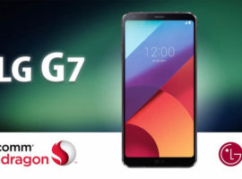 LG G7 получит процессор SoC Snapdragon 845